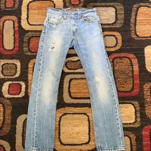 Levi Distressed Skinny Jeans